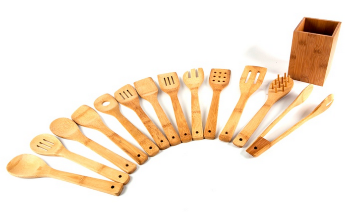 Core Bamboo Eco-Friendly 14-Piece Utensil Set-sale-01
