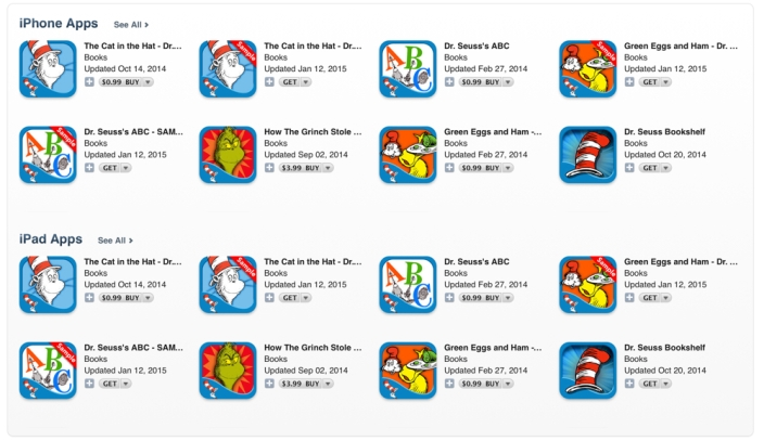 Dr. Seuss Birthday Sale-Android-iOS-sale-books-02