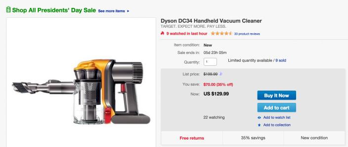 Dyson DC34 Hand-held Vacuum-sale-02