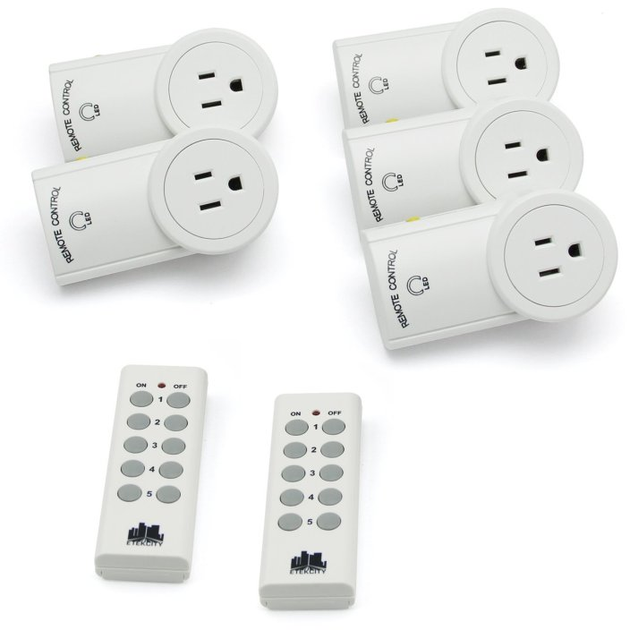 Etekcity self learning outlets 5-pack