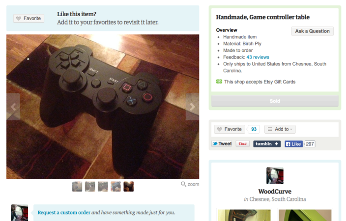 etsy-playstation-controller-table