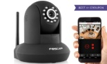 Foscam FI9821W V2 HD 1280 x 720p H.264 Wireless:Wired Pan:Tilt IP Camera