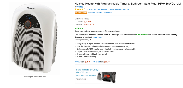 Holmes Heater with Programmable Timer & Bathroom Safe Plug-sale-02