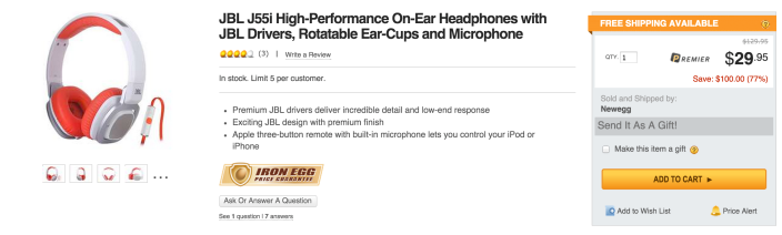 JBL J55i High-Performance On-Ear Headphones with JBL Drivers, Rotatable Ear-Cups and Microphone-sale-03
