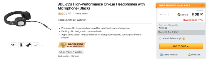 JBL J55i High-Performance On-Ear Headphones with JBL Drivers, Rotatable Ear-Cups and Microphone-sale-04