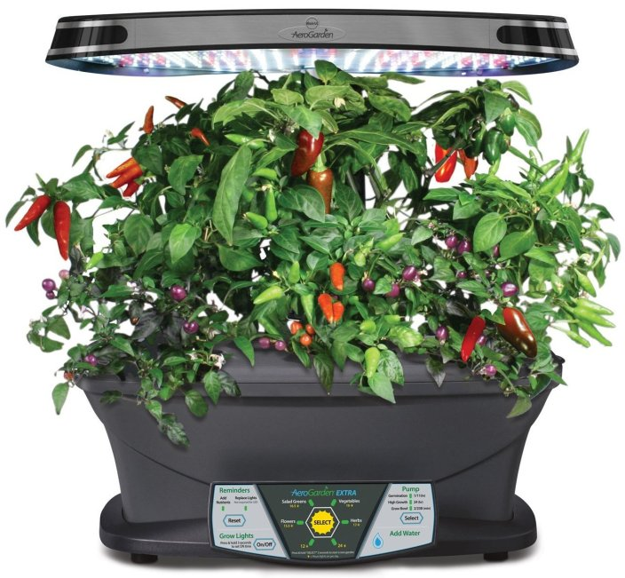 Miracle-Gro AeroGarden EXTRA LED Indoor Garden with Gourmet Herb Seed Kit-sale-01