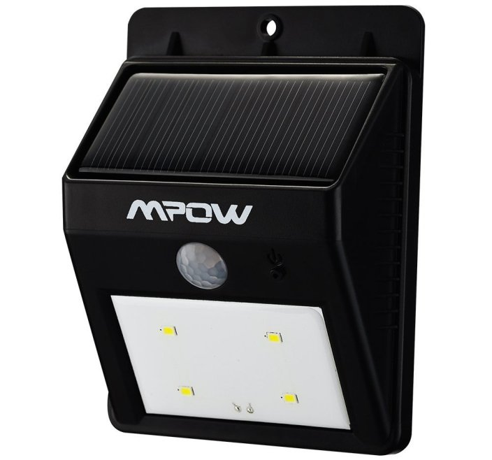 Mpow® Solar Powerd Wireless LED Security Motion Sensor Light-sale-01