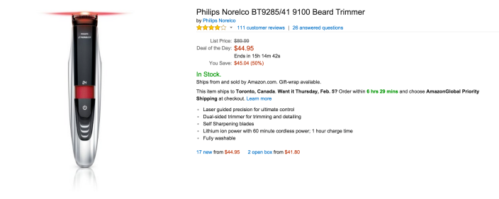 Philips Norelco BT9285:41 9100 Beard Trimmer-sale-02