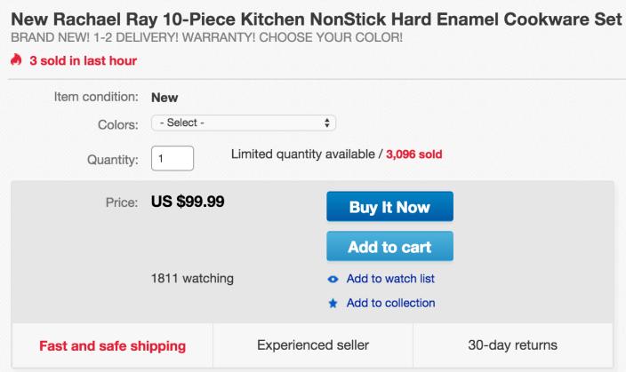Rachael Ray Porcelain Enamel II Nonstick 10-Piece Cookware Set-sale-02
