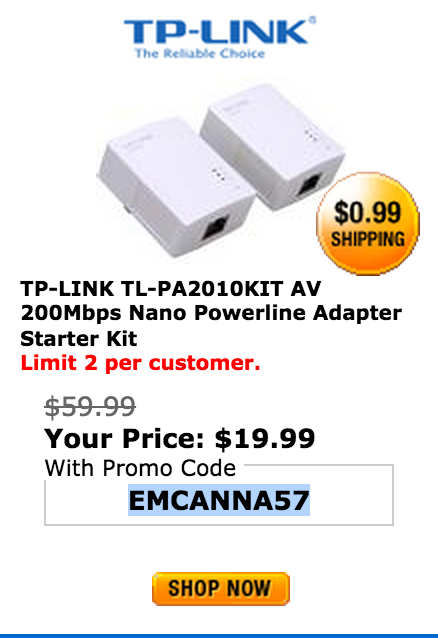 TP-LINK AV 200Mbps Nano Powerline Adapter Starter Kit (TL-PA2010KIT)-sale-02