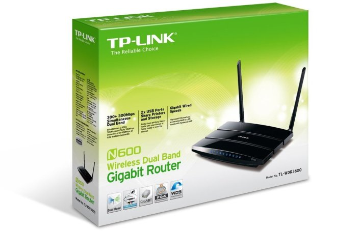 TP-LINK Dual Band Wireless N600 Router (TL-WDR3600)-sale-01