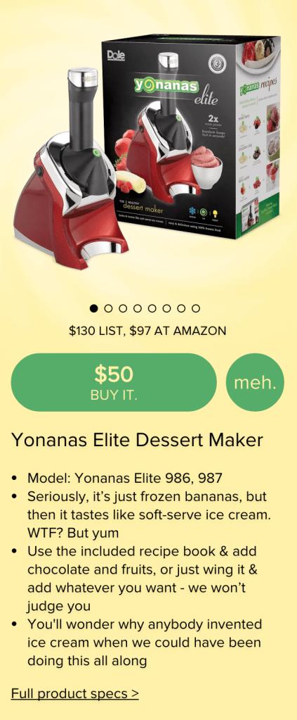 Yonanas Elite Healthy Dessert Maker-sale-02