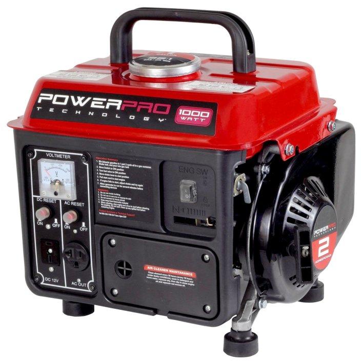 1,000-Watt 2-Stroke Gasoline Powered Portable Generator