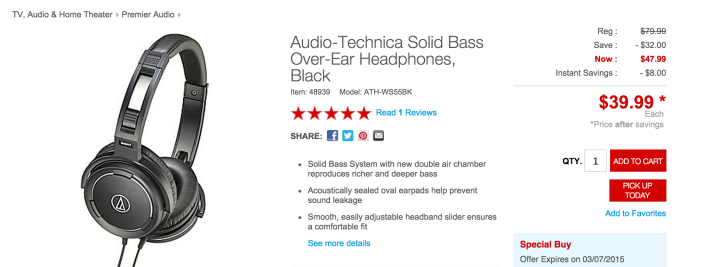Audio Technica Solid Bass Audio Headphones-sale-01