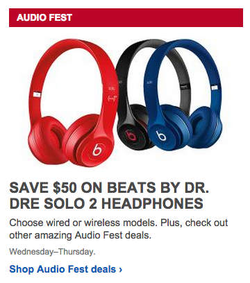 Beats Solo 2 Wired Best Buy | Beats By Dr Dre Solo2 Wired And Wireless On Ear Headphones 50 Off
