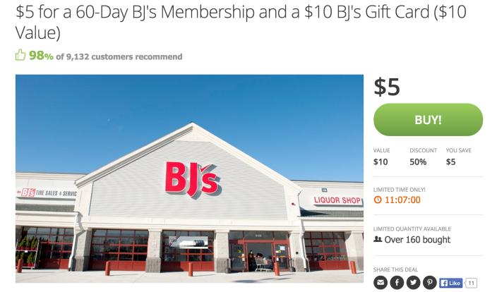 BJ's-gift-card-membership-sale