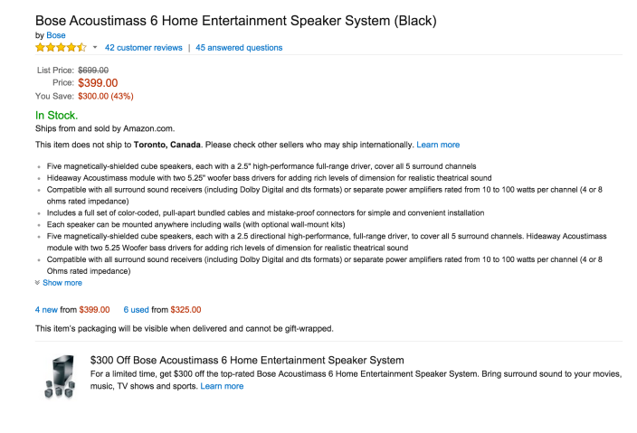 Bose Acoustimass 6 Home Entertainment Speaker System-sale-02