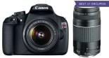 Canon EOS Rebel T5 18MP DSLR Camera Bundles