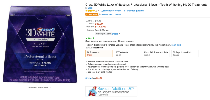 Crest 3D White Luxe Whitestrips Professional Effects-sale-02