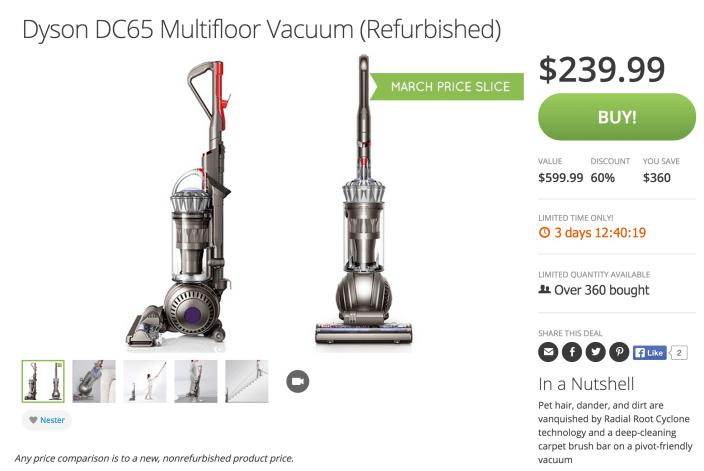 Dyson DC65 Multifloor Vacuum (Refurbished)-sale-01
