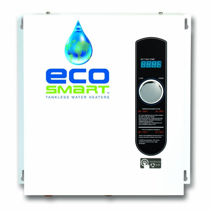 Ecosmart ECO 27 Electric Tankless Water Heater, 27 KW at 240 Volts with Patented Self Modulating Technology-sale-01