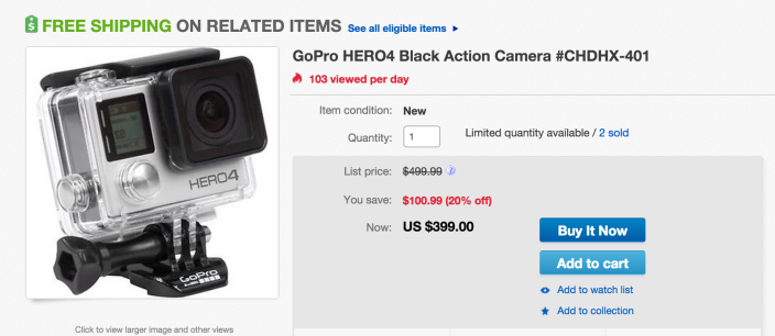 GoPro HERO4 Black 4K Action Camera-sale-01
