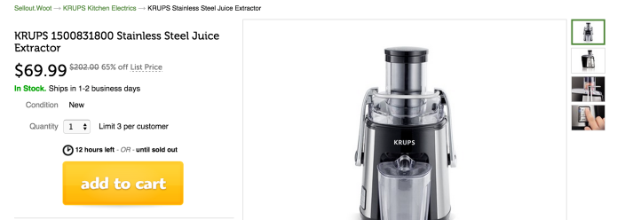 KRUPS Stainless Steel Juice Extractor-sale-03