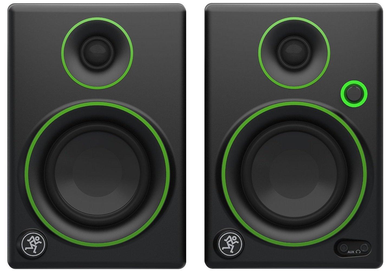 Mackie CR3 powered speakers + Audio-Technica ATH-M40x Pro ...