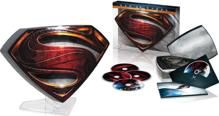 Man of Steel Collector's Edition (Blu-ray 3D + Blu-ray + DVD)