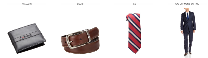 Men's Tommy Hilfiger Accessories