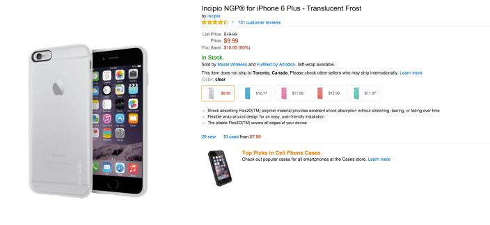 NGP flexible impact- resistant iPhone 6 Plus case-sale-02