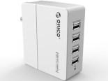 ORICO DCX-4U 5V7Amps 35W 4 Port Smart USB Wall Charger