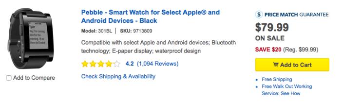 pebble-smart-watch-sale