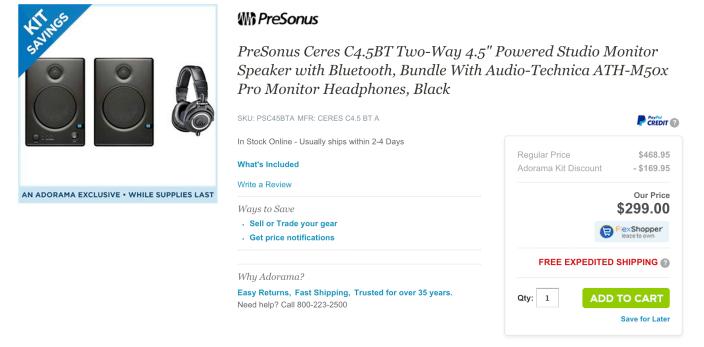 Presonus Ceres C4.5BT 2-Way Powered Speakers-sale-05