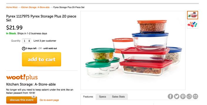 Pyrex glass Storage Plus 20 piece set (1117975)-sale-02