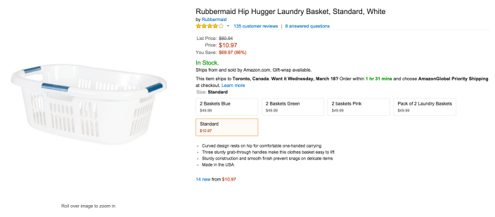 Rubbermaid Hip Hugger Laundry Basket-sale-02