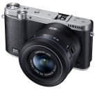 Samsung NX3000 Wireless Smart 20.3MP Compact System Camera with 20-50mm Compact Zoom and Flash  (Black)