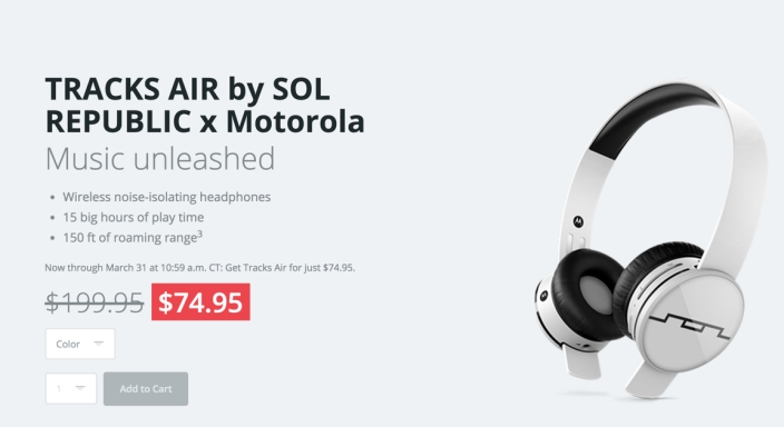 Sol Republic Tracks Air Bluetooth