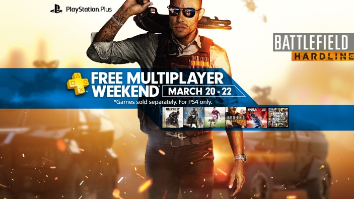 Sony-PS4-free multiplayer-weekend