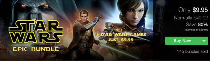 Stars Wars Epic Mac Games bundle