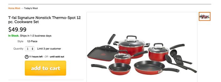 T-fal Signature Nonstick Thermo-Spot 12 pc. Cookware Set-sale-02