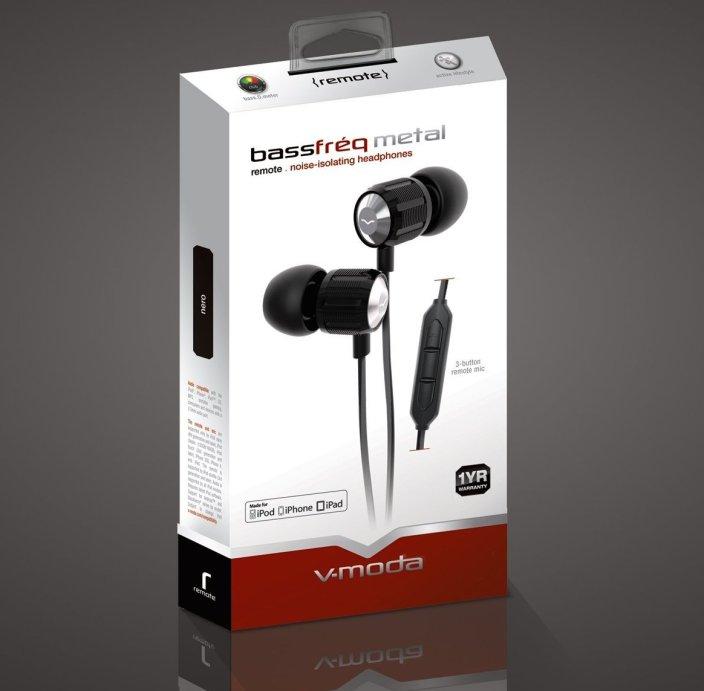 V-MODA Bass Freq Metal In-Ear Noise-Isolating Headphones-sale-01