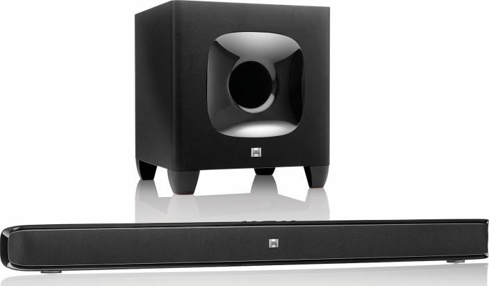 Amazon Gold Box - JBL Cinema 2.1Ch Bluetooth Soundbar w: 8-inch wireless subwoofer