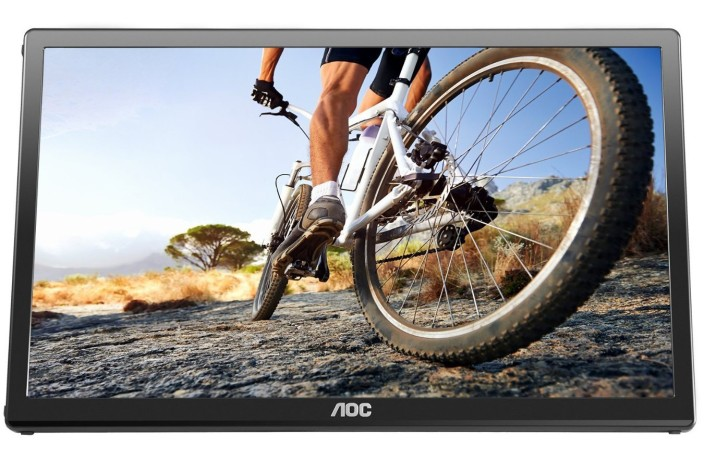 AOC E1759fwu 17-Inch Class, USB 3.0 Powered, Portable LCD : LED Monitor, VESA ( Latest Version)