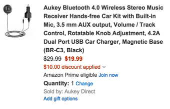 aukey discount promo code