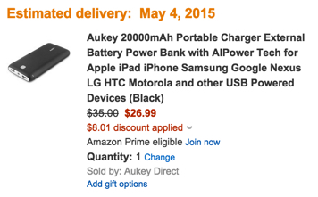 Aukey prom code discount