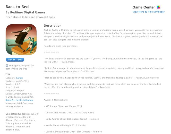 Back to Bed-Free-app-week-07