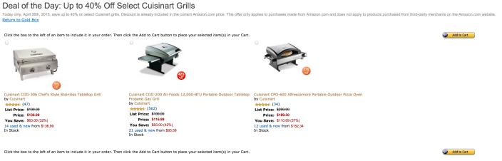 Cuisinart CGG-120 tabletop grill-sale-03