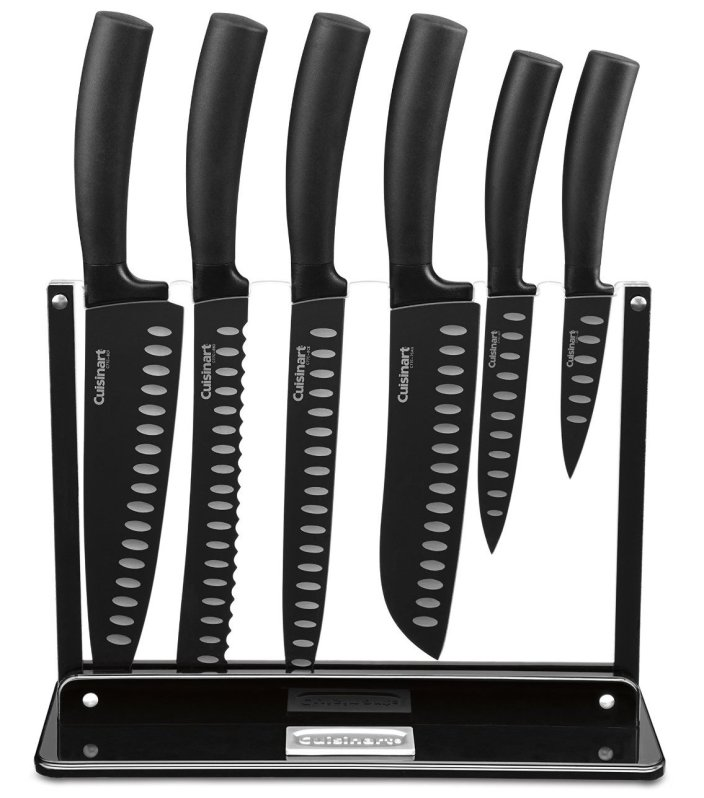 Cuisinart Classic 7-Piece Nonstick Cutlery Knife Set-sale-01