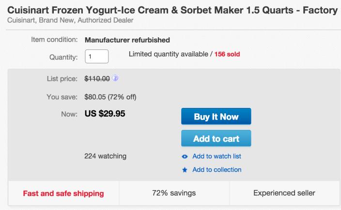 Cuisinart ICE-21 Frozen Yogurt-Ice Cream & Sorbet Maker-sale-03